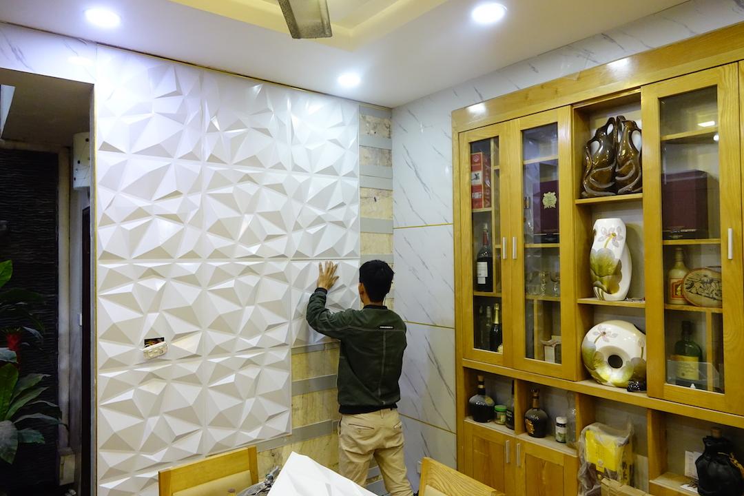 tấm nhựa ốp tường chống ẩm giá tốt