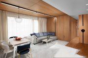 Tấm ốp tường giả gỗ - Xu hướng mới trong trang trí nội thất