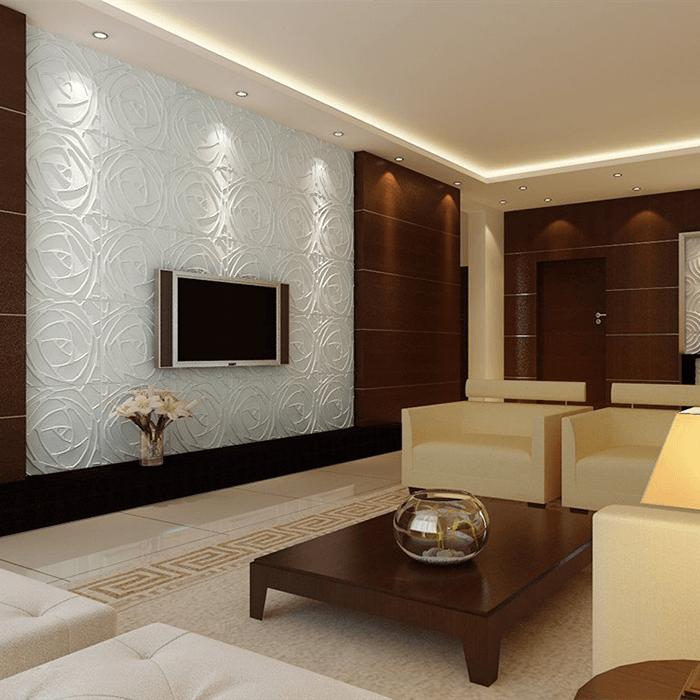 Một số gợi ý lựa chọn tấm ốp tường nhựa cho phòng khách nhà bạn-2
