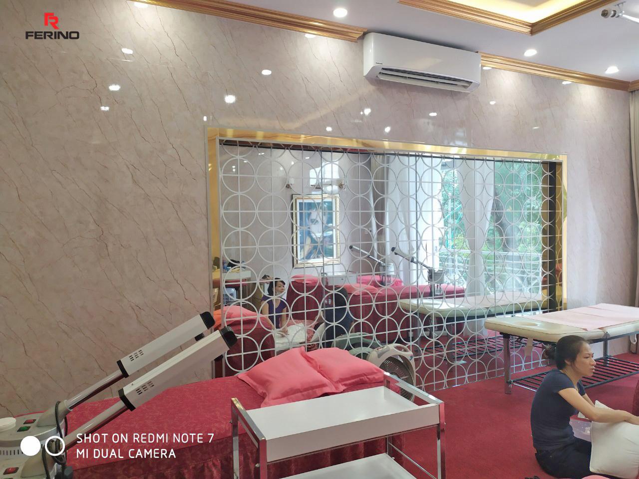 Công trình thi công tấm PVC vân đá tại 61C Quang Trung, Hà Nội