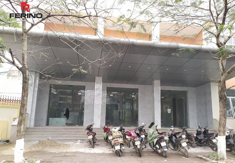 Hoàn thiện nội thất trung tâm hội nghị tiệc cưới 55 Trần Hoà, Định công, Hoàng Mai, Hà Nội