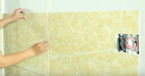 Hướng dẫn thi công tấm nhựa giả đá PVC chuẩn đúng kỹ thuật-4