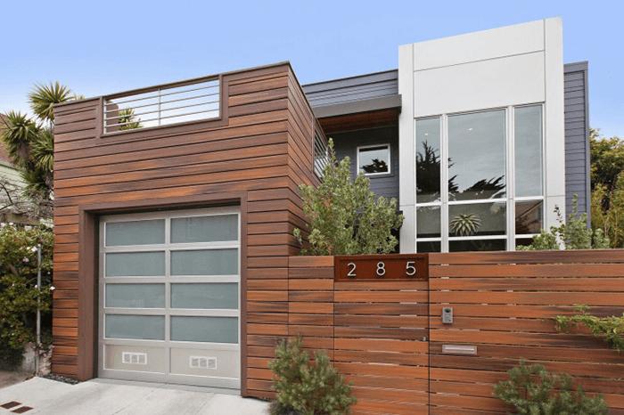 Tấm ốp tường composite giả gỗ vật liệu trang trí nhà hiện đại-6