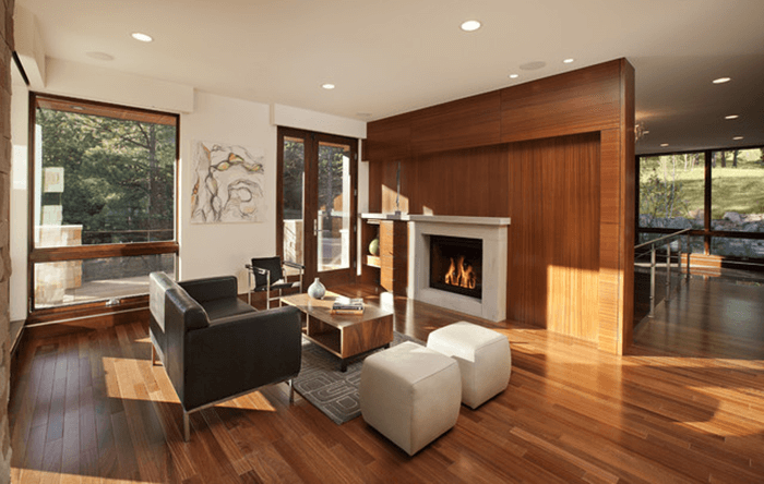 Tấm ốp tường composite giả gỗ vật liệu trang trí nhà hiện đại-8