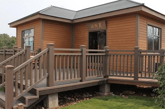 Tấm ốp tường composite giả gỗ vật liệu trang trí nhà hiện đại-7