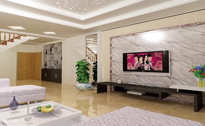 Tấm ốp tường nhựa phòng khách - Thẩm mỹ cao trong kiến trúc nội thất-2