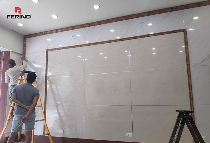 Địa chỉ mua tấm nhựa pvc vân đá ốp tường phong cách mới 2019