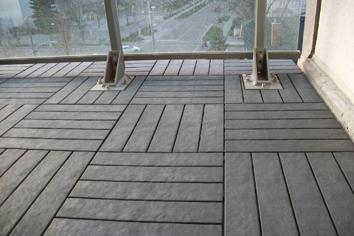 sàn gỗ vỉ nhựa trong các công trình hiện đại