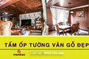Tấm nhựa giả gỗ ốp tường nhập khẩu cao cấp phân phối bởi Ferino Việt Nam