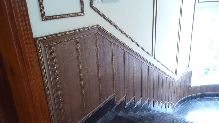 Tấm ốp tường composite giả gỗ vật liệu trang trí nhà hiện đại-9