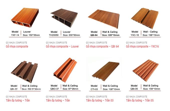 Báo giá gỗ nhựa ốp tường mới nhất năm 2019-3