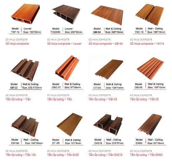 Những ưu điểm bất ngờ của vách ngăn nhựa giả gỗ