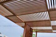 Thanh lam gỗ nhựa ngoài trời